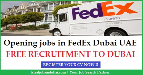 Delightful LatestJobsinDubai.com Inside Fedex Careers