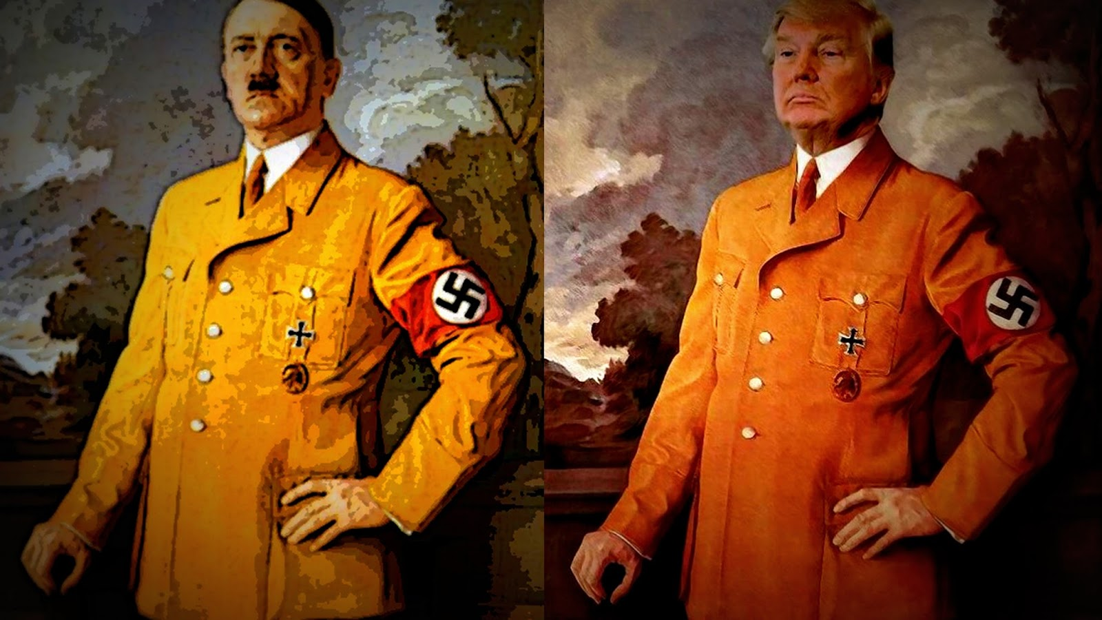 Celebrities Cut Anti-Trump Ad to 'Stop Orange Muppet Hitler'