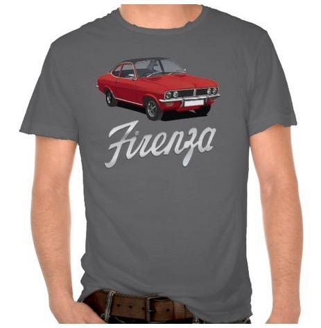 vauxhall, firenza, 70s, t-shirt