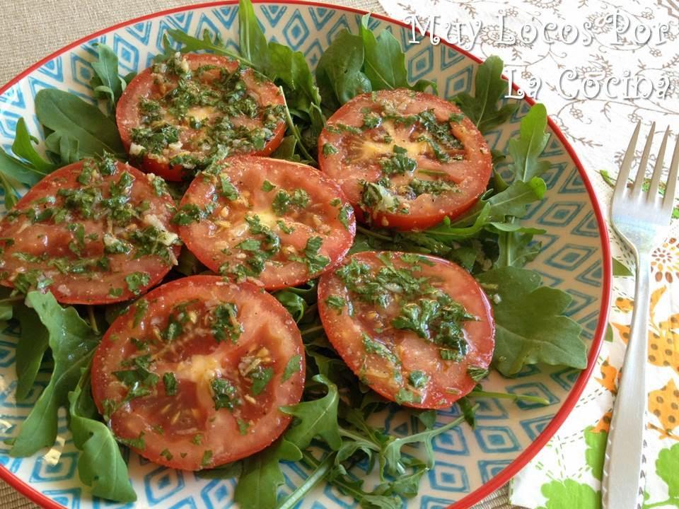 Ensalada de Tomates al Estilo Egipcio