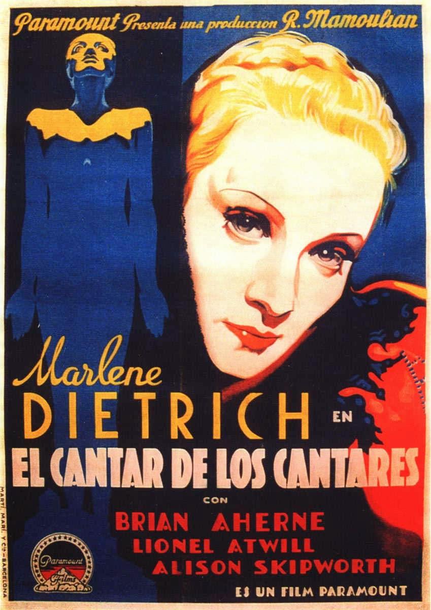 mi enciclopedia de cine 1933 el cantar de los cantares