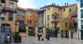 Oviedo, Plaza de Trascorrales.