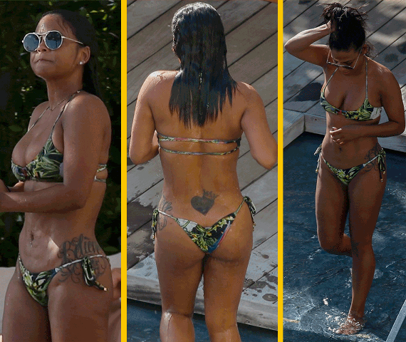Christina Milian looks amazing in a bikini (photos)