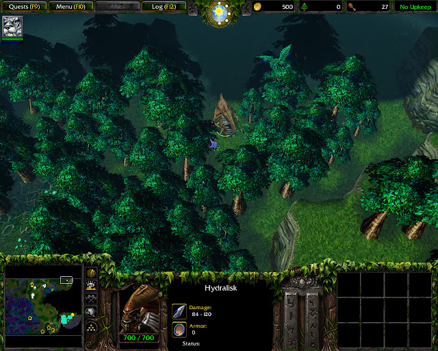 Hidralisk Location Picture | Warcraft 3: Reign of Chaos
