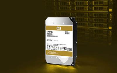 WD Gold Harddisk untuk Server