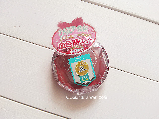 Canmake Cream Cheek Clear Rubby Cherry