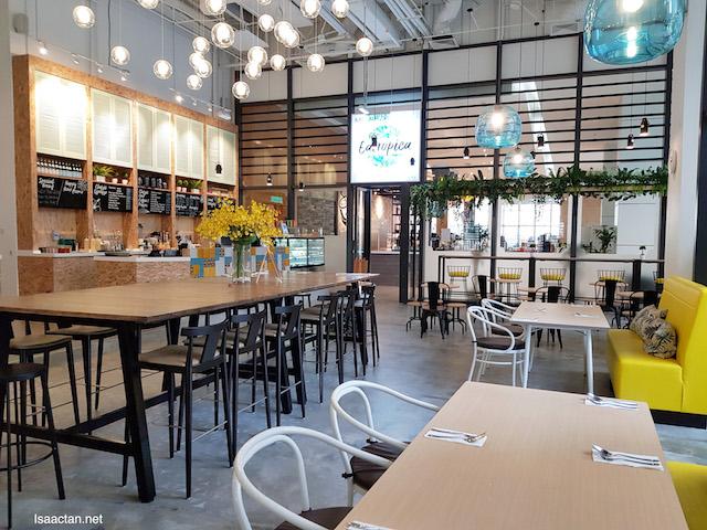 EATROPICA Cafe @ Menara 1 Sentrum, Nu Sentral Kuala Lumpur