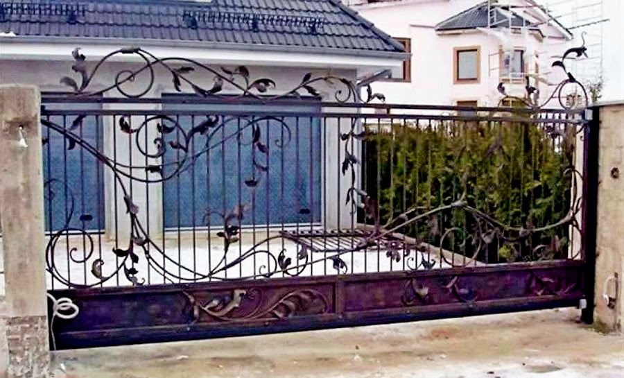 Размеры откатных ворот