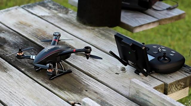 Review Cheerson CX-23 Drone Mini Dengan Fitur GPS