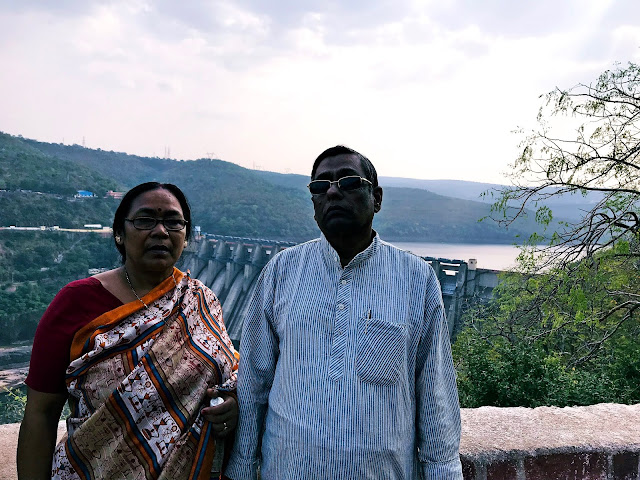 we at Famous Srisailam Dam