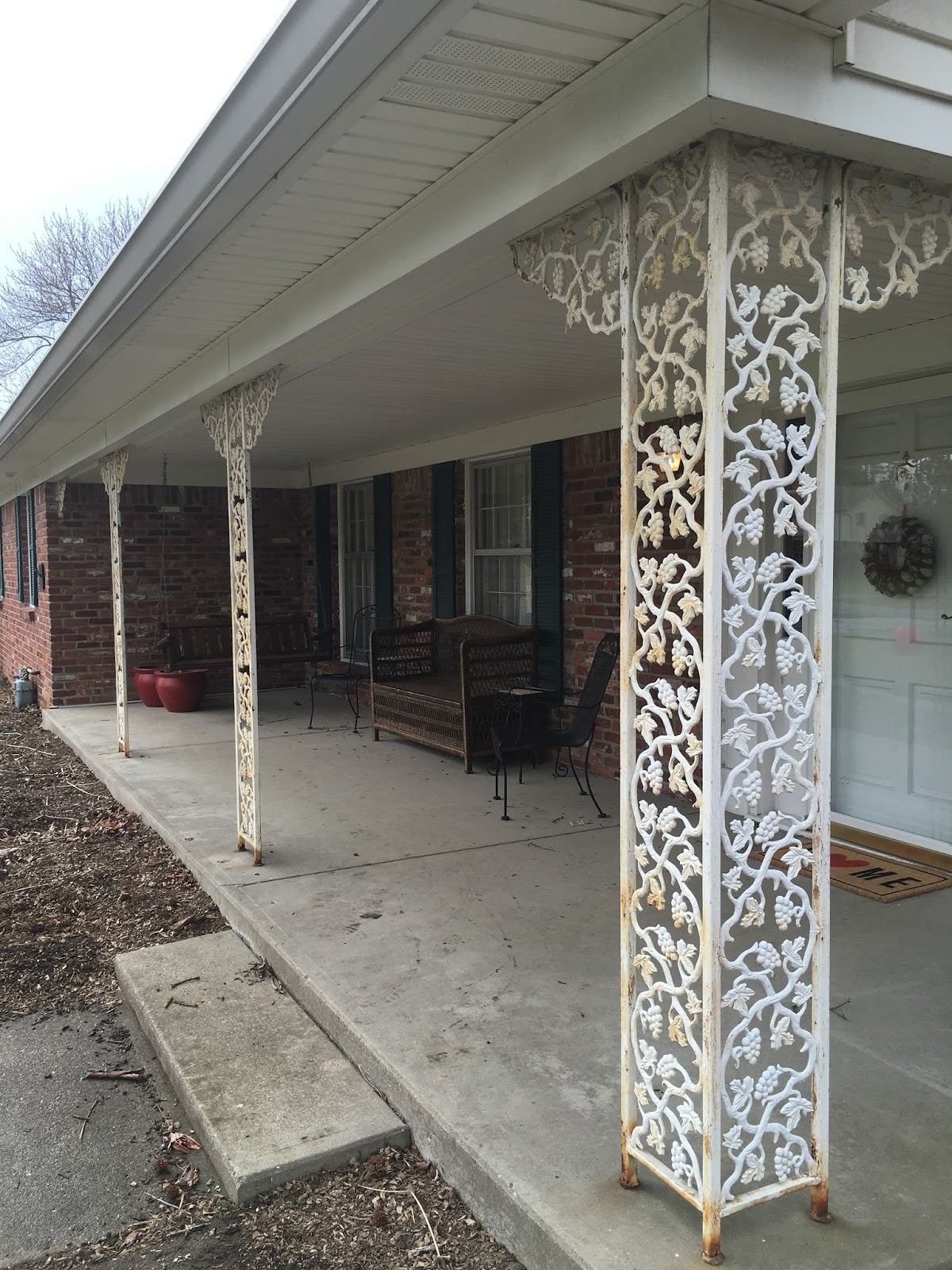 Casa Williams Updating Our Front Porch With 6 Quot X6 Quot Rough