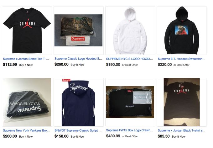 I feel bad for all the people who would just want a chance to have a  T-shirt from Supreme b44ad00bebfa