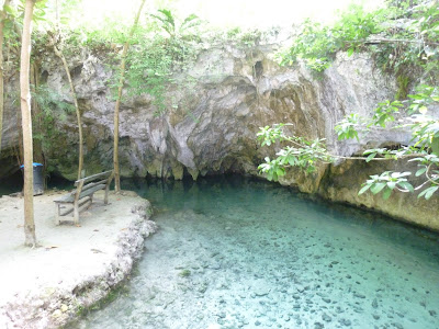 GRAND CENOTE MEXIQUE RIVIERA MAYA