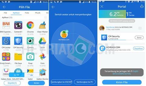 Cara Mengirim Aplikasi Sesama Android
