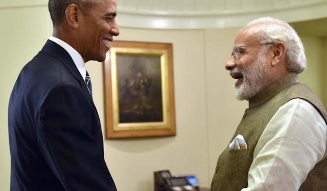 ओबामा ने भारत की एनएसजी की सदस्यता का किया समर्थन