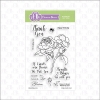 FBS Roses In Bloom 4x6 Clear Stamp Set