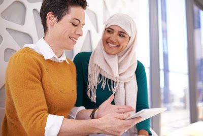 Bahasa Arab digunakan untuk berbicara