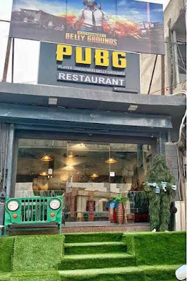 PUBG Themed Restaurant Open In Jaipur And Here You Get Chicken Dinner
