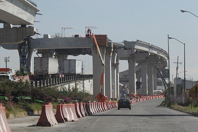 Listo el segundo piso de la Autopista Mex-Pue el 1ro de Septiembre