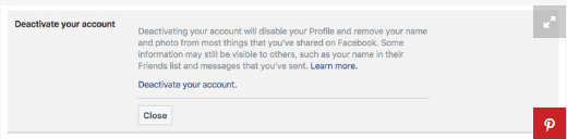 How To Close Your Facebook Account