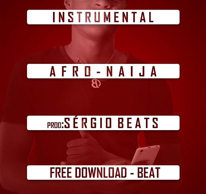 DOWNLOAD BEAT:  Sérgio Beat - Afro Naija (Instrumental)