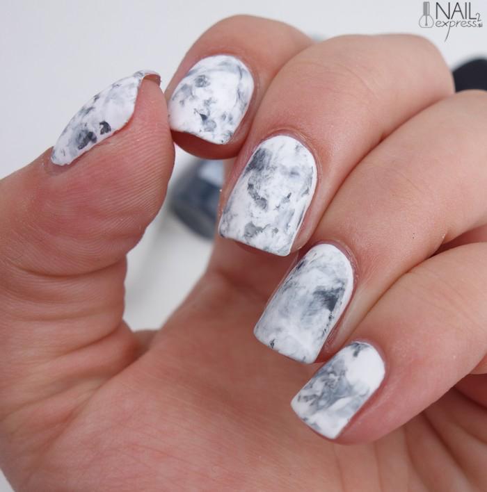 Mat marmorni nohti
