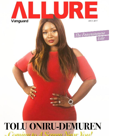 OAP Toolz Covers Vanguard Allure Magazine, Reveals How She Felt Odd In Entertainment Indutry