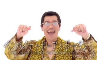 Pen Pineapple Apel Pen