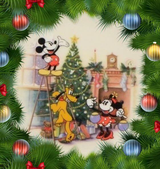 Xmas Images Disney 2017