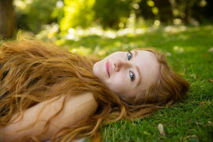 30 Stunning Pictures From All Over The World That Prove The Unique Beauty Of Redheads - Krissy From Stuttgart, Germany