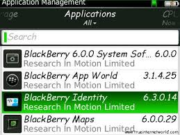 How to Sign Out From Your Blackberry ID/Identity/Appworld