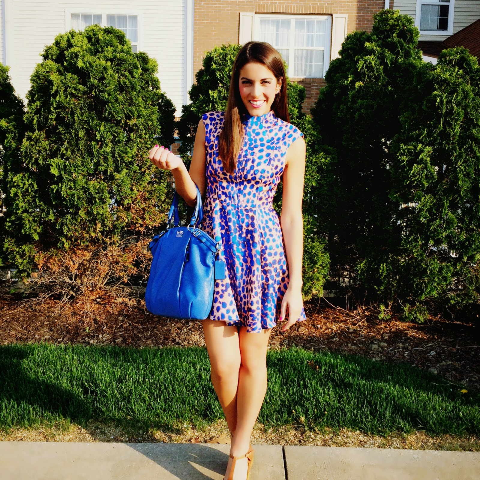 e87acd036fb29 Would you wear this dress to a graduation? When you're an attendee, why  not? I can't say I would've chosen this dress for any of my own  graduations, ...