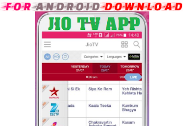 Download JioTV Live APK(Update) Android Apk - Watch World Premium Cable Channel Live Tv on Android