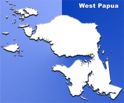 image: West Papua Blank Map