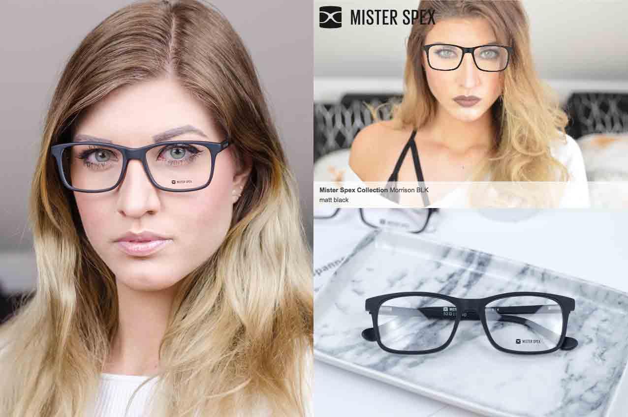neue Brille ganz einfach mit Mister Spex Morrison BLK