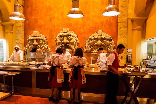 Pizzaria Via Napoli no Epcot em Orlando