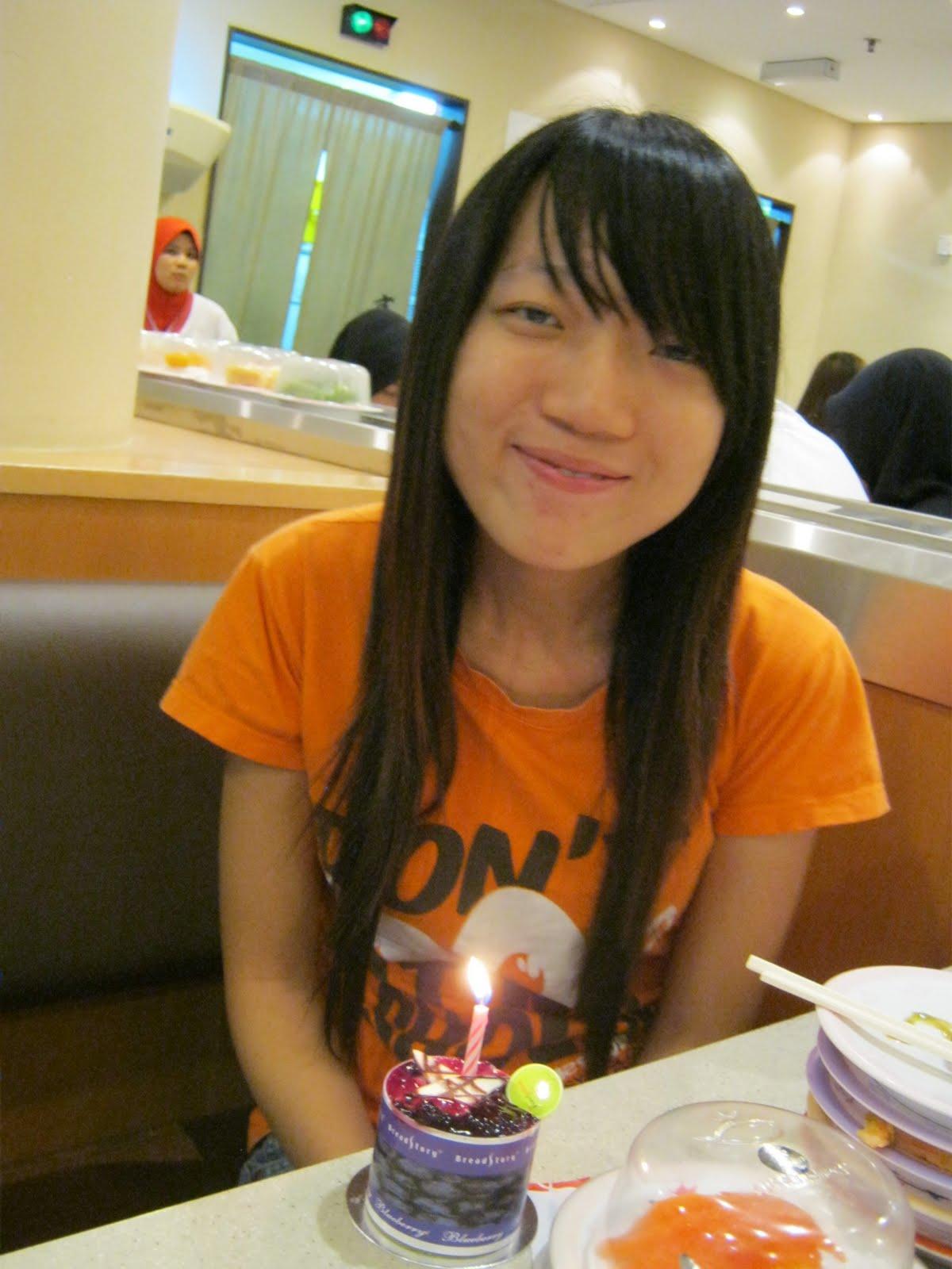 If I could write more Fui Yings Birthday Celebration Sushi