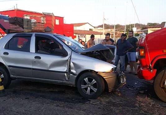 Patoenses ficam feridos durante acidente em São José do Bonfim