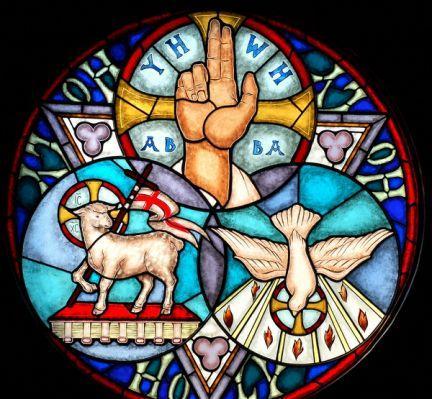 Eat  PRAY  Sleep : A Sermon for Trinity Sunday - An