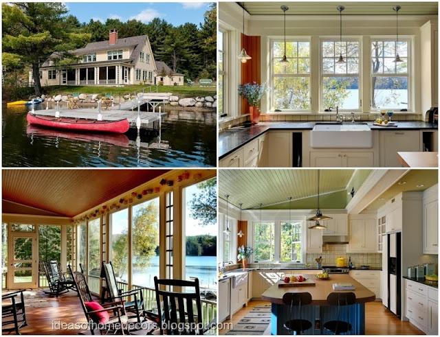 Beautiful Lakeside Home Decorating Ideas