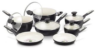 Ceramic Cookware Set made in USA