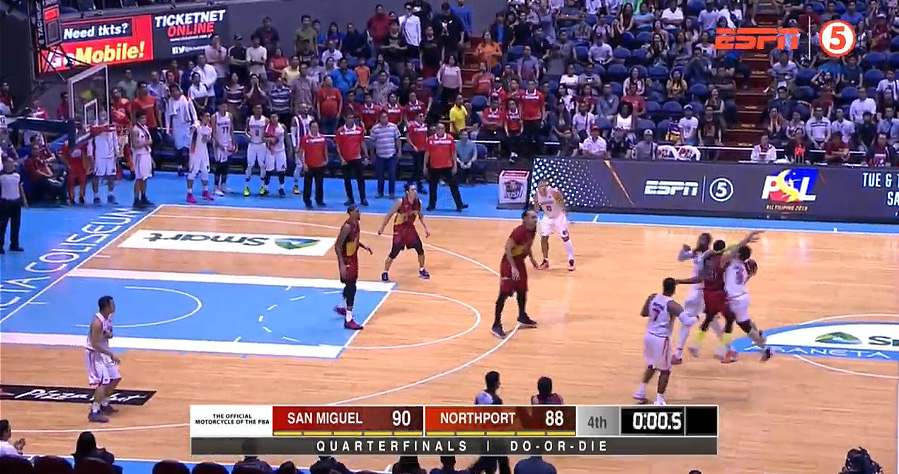 San Miguel eliminates NorthPort, 90-88 (REPLAY VIDEO) July 24 | PBA Quarterfinals