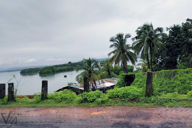 Islands formed by Sharavathi river, Honnavar