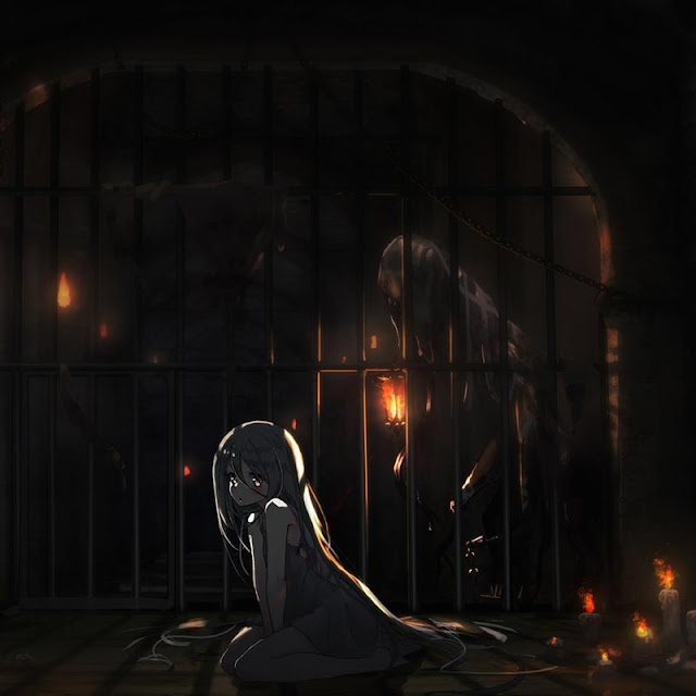 Locked up Beauty Wallpaper Engine