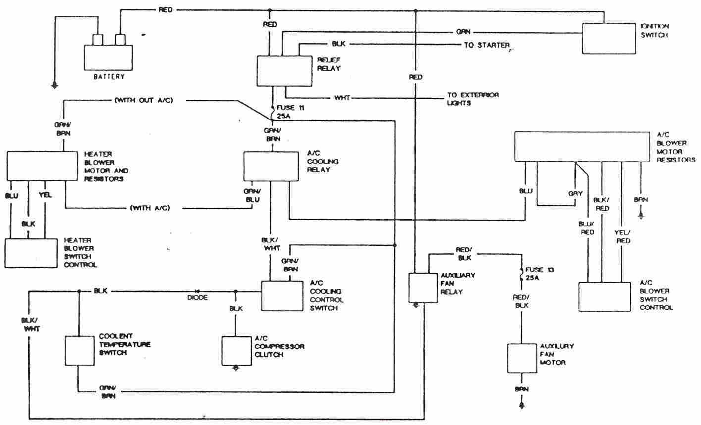 E30 Ac Wiring Diagram