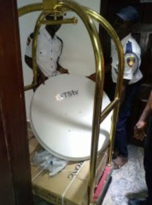 pictures of tstv decoder ready for distribution