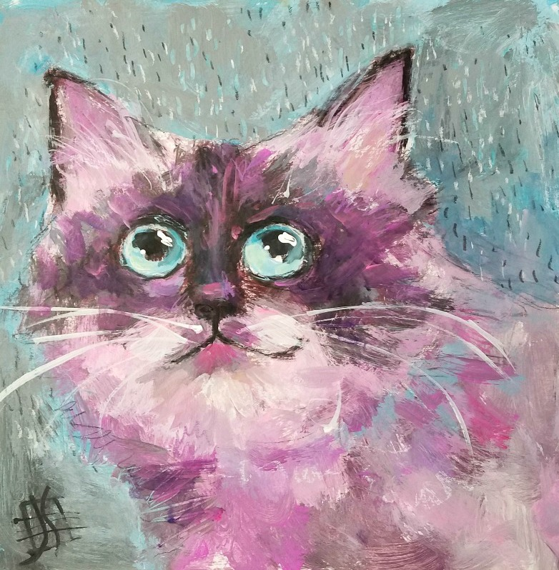 CAT #10 Stormy Kitty by Joanie Springer