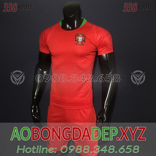 Áo Bồ Đào Nha 2019 Sân  Nhà Màu Đỏ Đẹp