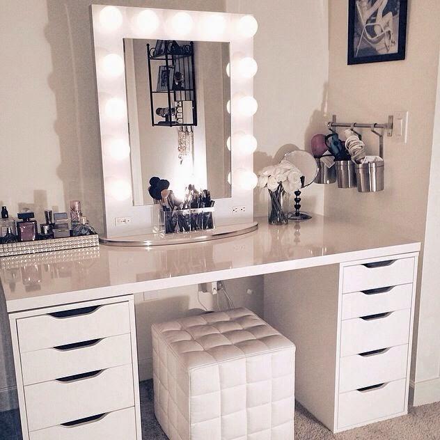 home & garden: 50 idées pour ranger son maquillage - Comment Ranger Son Bureau De Chambre