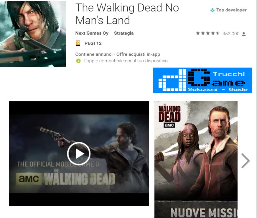 Trucchi The Walking Dead No Man's Land Mod Apk Android v2.5.0.53